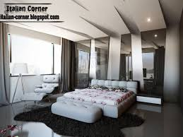 Italian Bedroom Designs Italian Bedroom Design Modern Gypsum Ceiling Leather Home Living