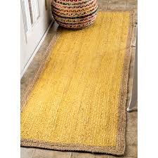 Round Yellow Rug Yellow Area Rugs Roselawnlutheran