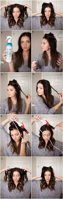 how to curl your hair fast with a wand quick casual curls alldaychic