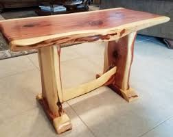 Homemade End Tables by Cedar End Table Etsy