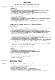 financial analyst resume exles director of financial planning and analysis resume resume for study