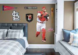 Cincinnati Reds Bedroom Ideas Life Size Yadier Molina Fathead Wall Decal Shop St Louis
