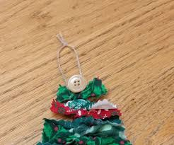 no sew fabric christmas tree ornament 8 steps with pictures