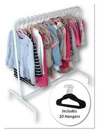 amazon com child garment rack kids closet organizer with 10