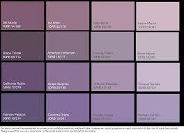 different shades of purple names purple paint color names paint color ideas