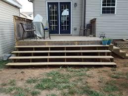 deck stairs part 1 u2013 blue shoes u0026 a garden