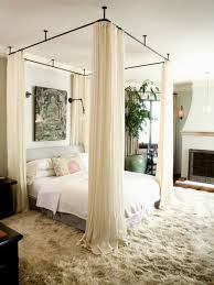 Iron Canopy Bed Hang Your Canopy From The Ceiling For The Home From Brit Co