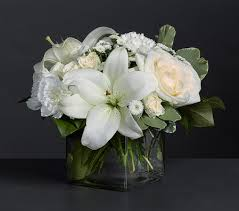 Free Vase Illuminati Carnations Lilies And Roses With Free Vase Giftsmate