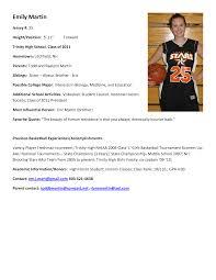 Baseball Resume Template Coach Resume Example High Basketball Coach Resume Examples
