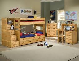 Trendwood Bunkhouse TwinTwin Wrangler Bunk Bed With Storage - Trendwood bunk beds