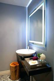 backlit bathroom mirrors uk backlit bathroom mirror vinasteel net