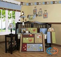 Airplane Crib Bedding Boutique Airplane Aviator Boy 13pcs Crib Bedding Set