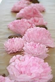 98 best tissue paper flowers hana images on pinterest tissue
