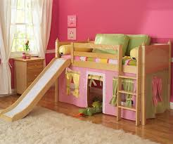 Bunk Bed Attachments Best Safety Loft Bed With Slide And Tent Modern Loft Beds
