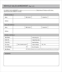 100 free sales contract template doc740979 free commercial