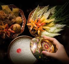 cha e cuisine khao chae ข าวแช foods for songkran festival in