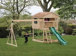 building a backyard playground home designs idea