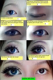 tutorial alis mata untuk wajah bulat 7 langkah cara praktis merias mata agar tak lebih lebar