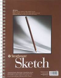 strathmore 9x12 spiral mixed media paper pad 60ct white products