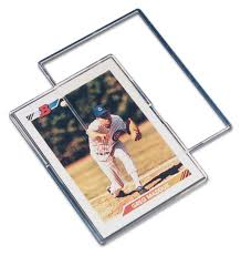 mini snap trading card holder by pro mold