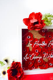 cricut global traditions diy poppy shadow box pmq for two