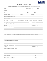 health form template templates franklinfire co