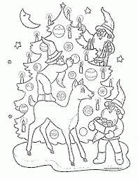 coloring page christmas tree coloring pages 13