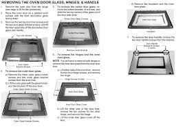 glass oven door shattered kitchenaid duel fuel freestanding range parts model kdrp467kss09