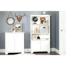 White Wooden Storage Cabinet With Drawers And Door White Storage Cabinet With Drawers Wooden Four Door Doors And