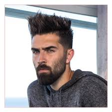 mens medium wavy haircuts also taper fade with medium length spiky
