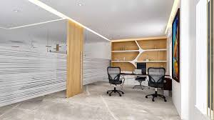 Office Cabin Furniture Design Maker Chamber 15th Floor Architectural Visualization 3d Studio