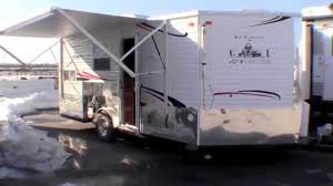 Power Awning 2015 Ice Castle 17 U0027 Rv Edition With Power Awning Youtube