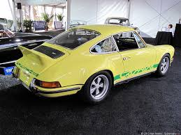 1973 Porsche 911 Carrera Rs 2 7 Touring Pics U0026 Information