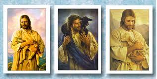 jesus shepherd memorial funeral stationery