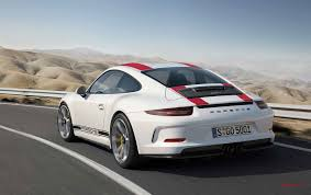porsche car 2016 the new 2016 porsche 911 r stuttgartdna