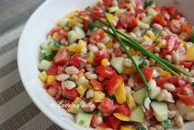 cuisiner les haricots blancs frais cooking salade de haricots blancs aux crudités