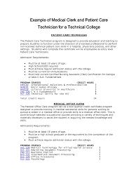 resume sample for technician central service technician resume sample free resume example and patient care technician resume template