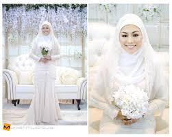 wedding dress syari makeup inspiration walimah wedding syari