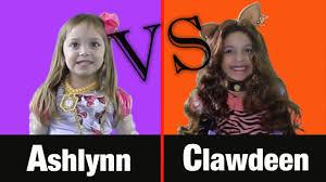 Clawdeen Monster High Halloween Costume by Clawdeen Wolf Vs Ashlynn Ella Epic Dance Battle Monster High Ever