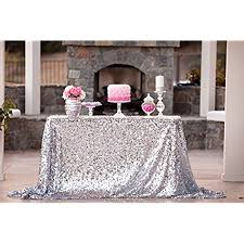 can you put a rectangle tablecloth on a round table wedding table cloths amazon com