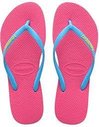 havaianas slim logo pop up womens flip flops flip flops