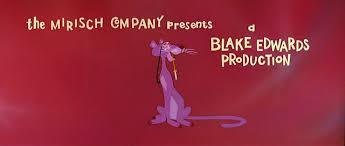 pink panther 1963 blake edwards title sequence video