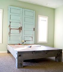 Wood Headboard Ideas Recycling Old Wooden Doors And Windows For Home Decor
