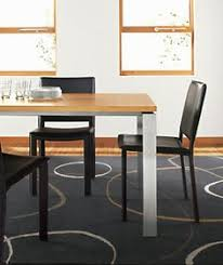 Parsons Dining Table With Soren Dining Chairs Modern Dining Room - Room and board dining table