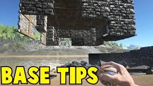 ark survival evolved base building tips youtube