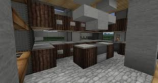 modern kitchen minecraft interior design