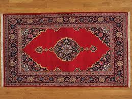 Persian Oriental Rugs by 4 U0027 X 7 U0027 Handmade Old Persian Kashan Open Field Oriental Rug Full