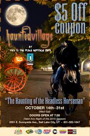 halloween salt lake city 5 off to the haunted village through halloween u2013 espn700