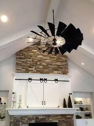 outdoor windmill ceiling fan windmill wheel ceiling fan kit components 8ft diameter w o