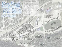 Nm Map River Ranch Rv Park 3 Photos Red River Nm Roverpass